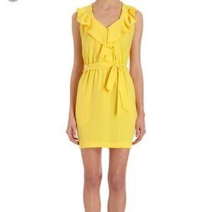 Diane Von furstenburg yellow dress